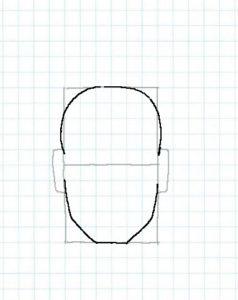 後ろ頭の描き方02