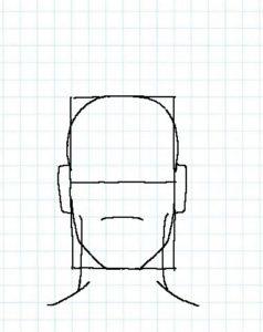後ろ頭の描き方05