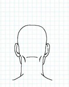 後ろ頭の描き方07
