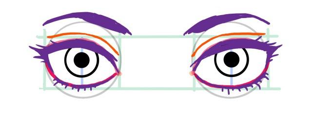 目の描き方~完了