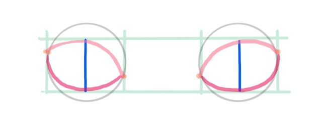 目の描き方~目線