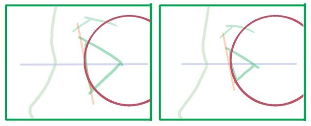 横向きの目の描き方~目玉
